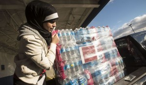 Flint MI water drive - Quran Focus